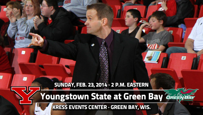 First Place Up for Grabs for YSU on Sunday at Green Bay
