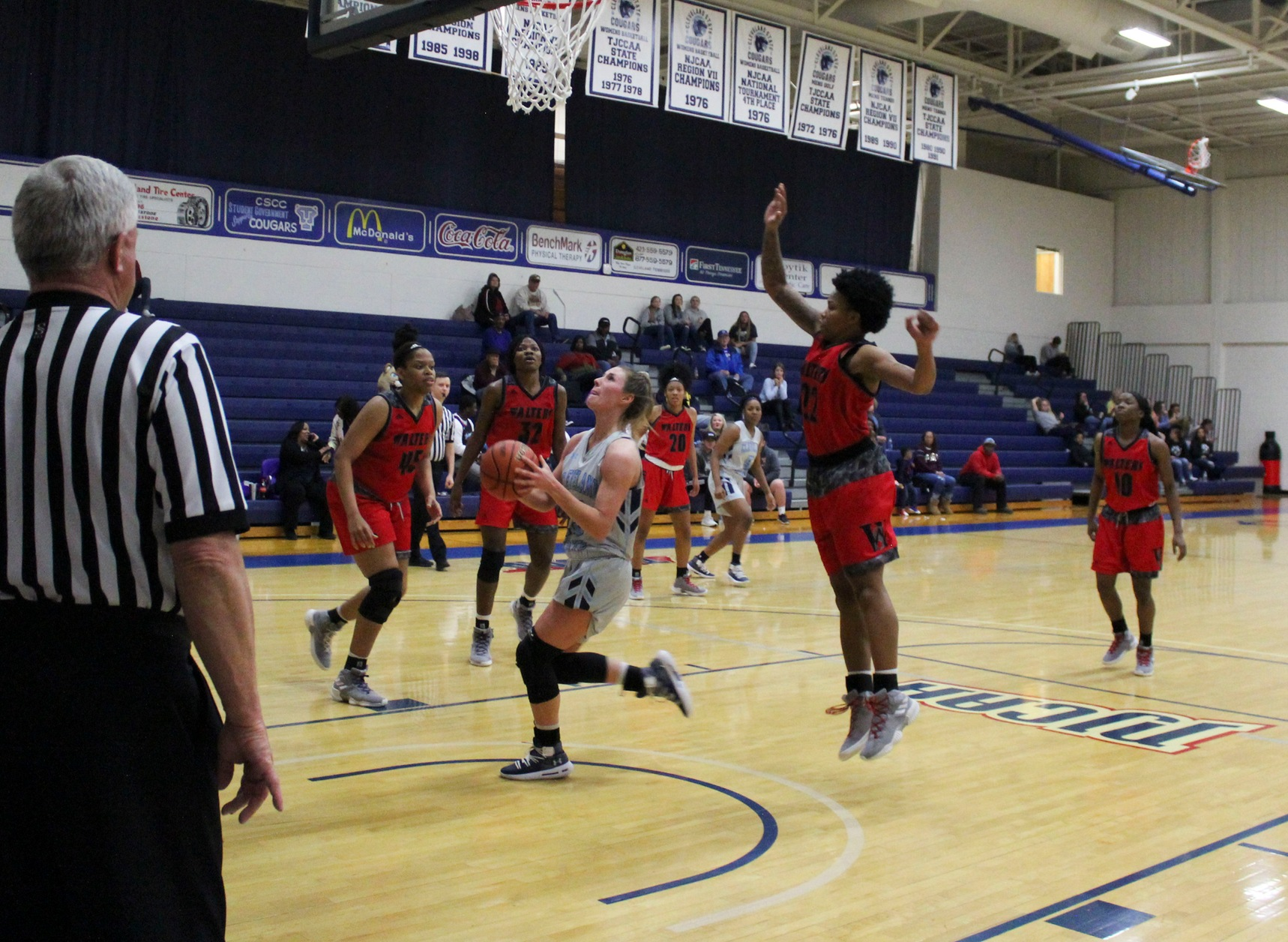 Women's Basketball Falls 76-55 At Roane State
