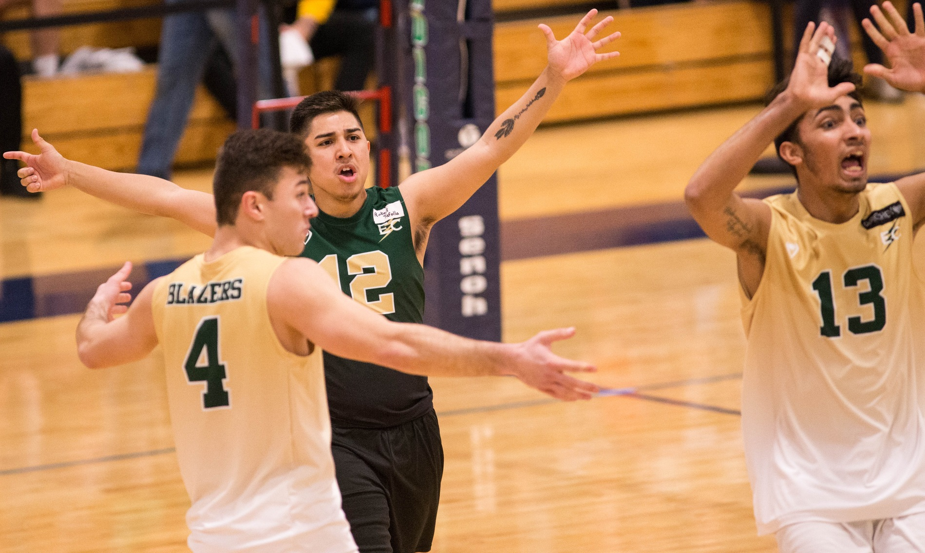 Blazer Volleyball Makes It Four Wins In A Row