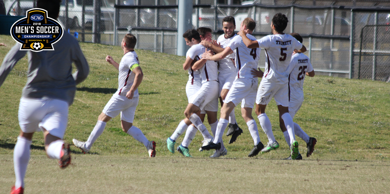 Trinity Defeats TLU in OT Thriller to Advance to SCAC Tournament Final