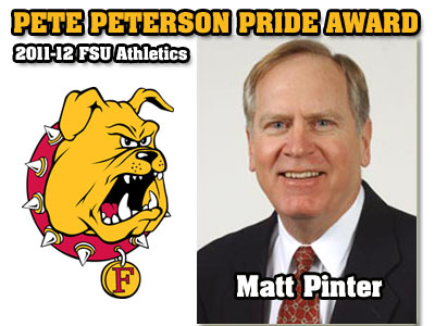 Peterson Pride Award Goes To Matt Pinter