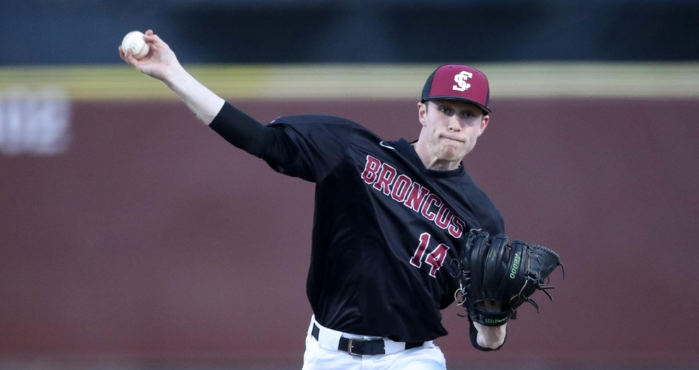 Baseball Shutout At Gonzaga On Saturday