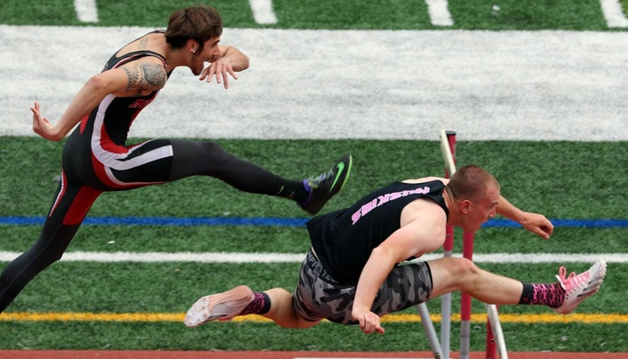 Men's Track and Field finishes ninth at OAC Championships