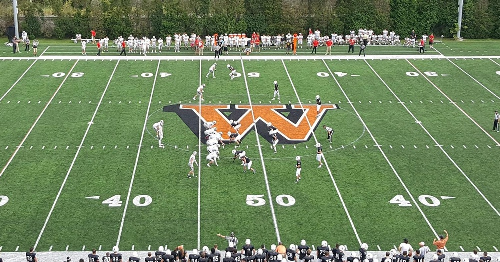 Football Scores 24 Unanswered to Defeat Waynesburg, 30-20