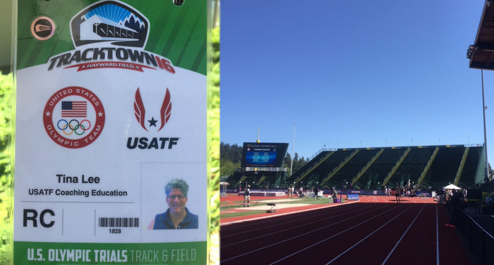 Track & Field's Coach Lee Experiences the U.S. Olympic Trials