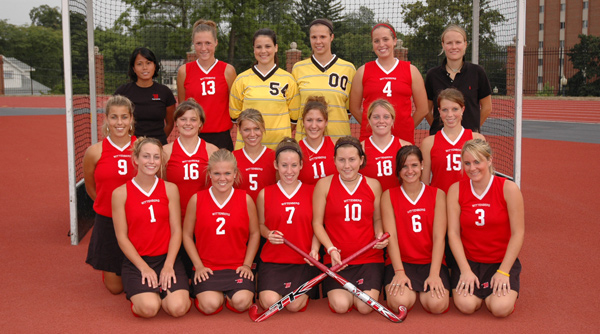 2005 Wittenberg Field Hockey