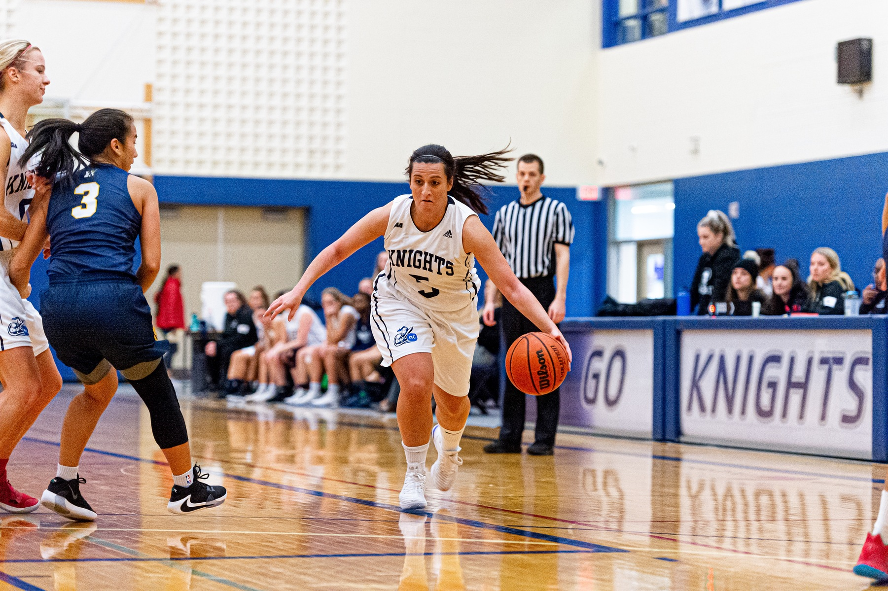 Winning Woes Continue for Knights Women's Hoops with Loss to Undefeated Humber Hawks