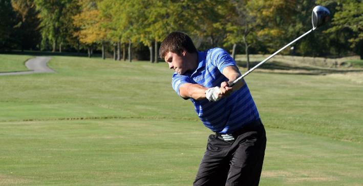 Men's Golf in sixth after opening round of NACC Championship
