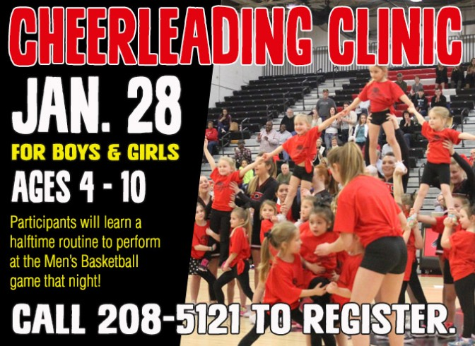 Photo for SCC Cheerleading to host Cheerleading Clinic