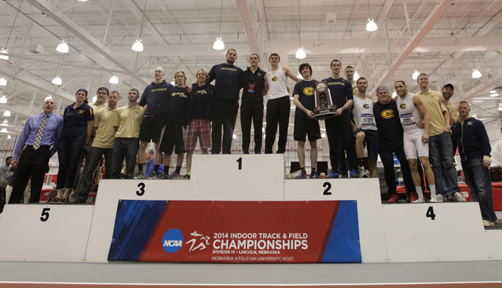 Two Titles Highlight Blugolds' Time at 2014 NCAA Indoor Championships