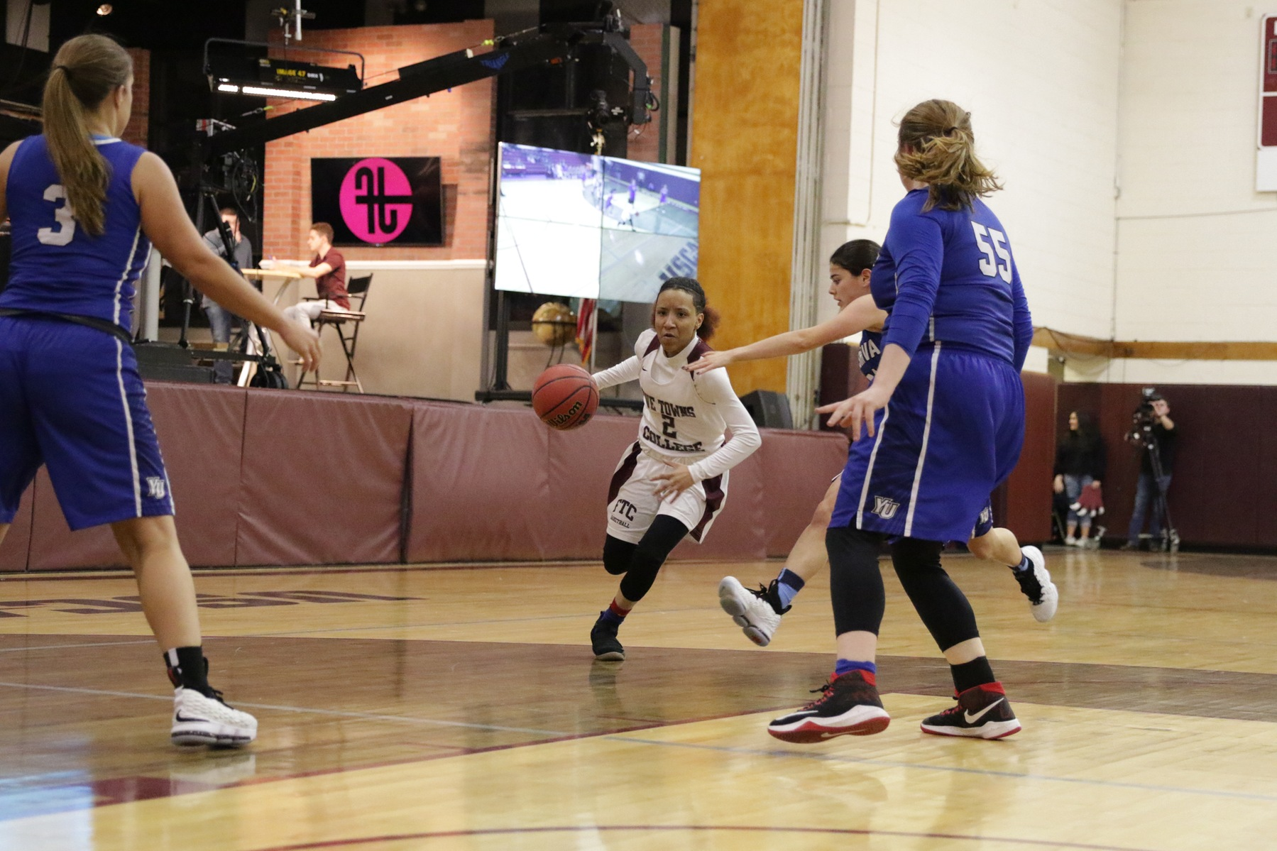Women's Basketball Falls to Yeshiva 66-31