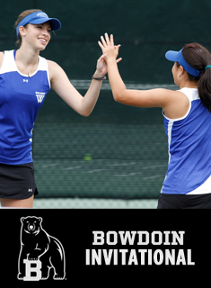 Tennis Opens Bowdoin Invitational with Four Wins