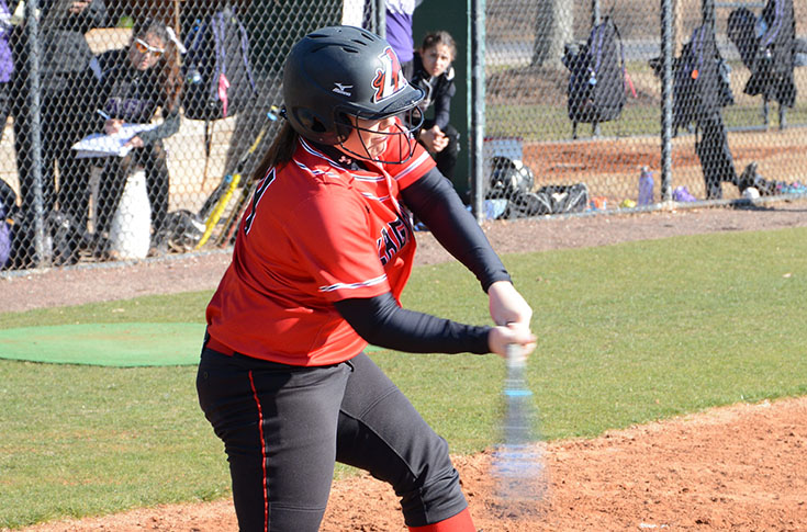 Softball: Jiles' home run helps Panthers complete sweep of Huntingdon; win streak reaches six