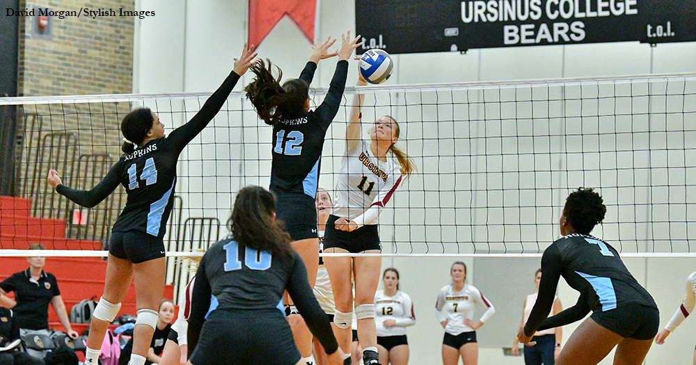 Volleyball Plays Hopkins Tough in Home Opener