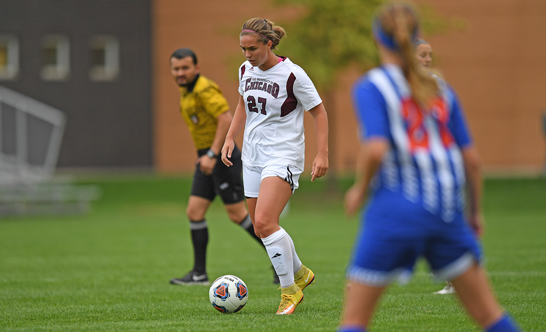 UChicago Women's Soccer Races Past Carroll 5-0