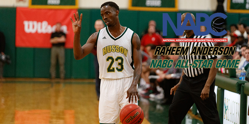 Raheem Anderson Earns Spot in NABC 2018 Reese's Division III College All-Star Game