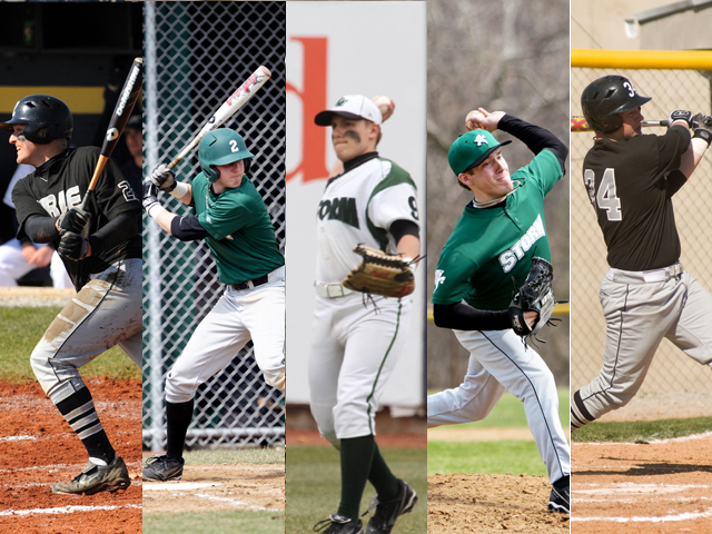 Storm Places Five on All-GLIAC Baseball Team