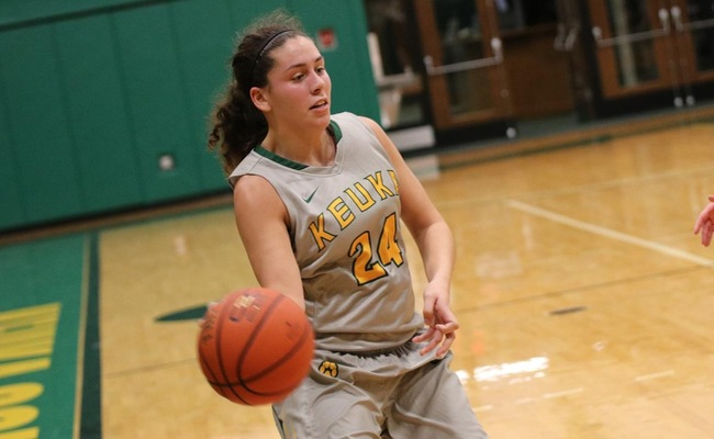 Lauren Anten (24) led the Wolves with 16 points on Wednesday -- Photo by Chey Bennett