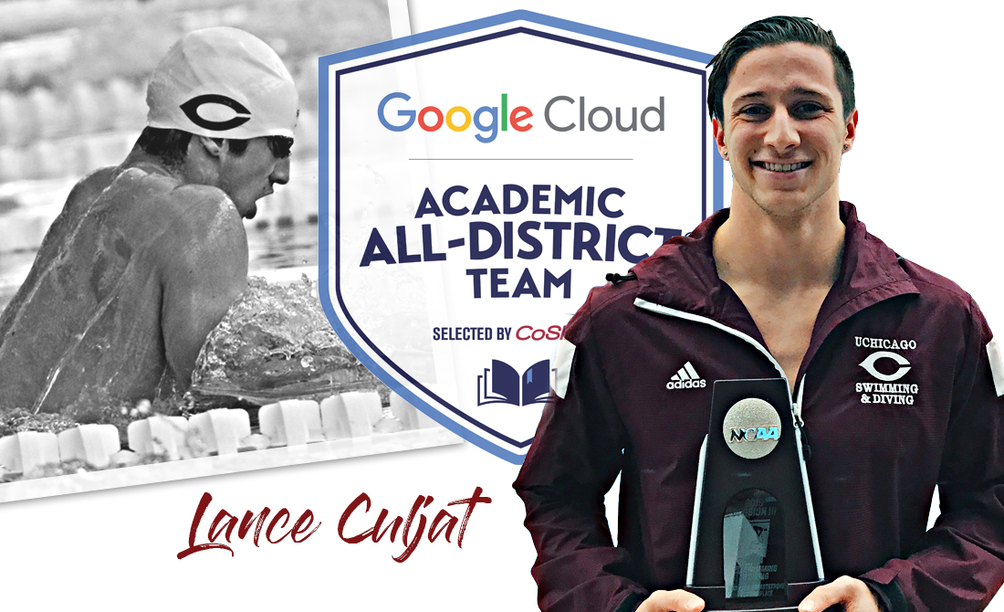Lance Culjat Receives CoSIDA Academic All-District Recognition