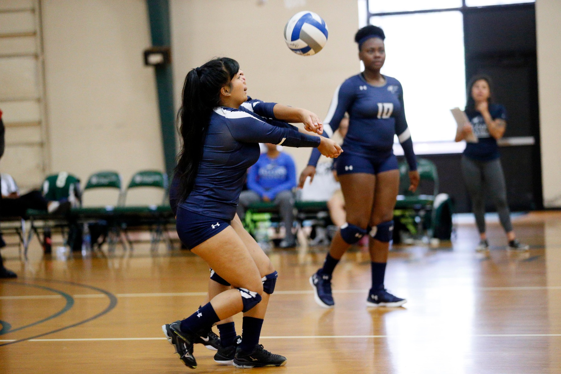 The Women's Volleyball Win Streak Ends At Six As They Lose Two To Univ. of ME- Fort Kent