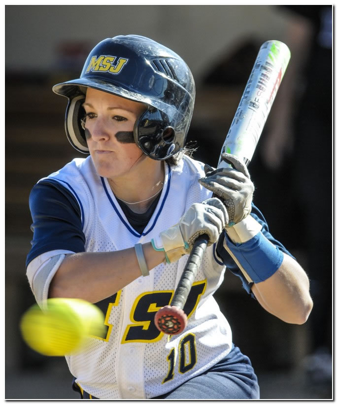 Mount softball squad suffers doubleheader setback at HCAC-leader Anderson University