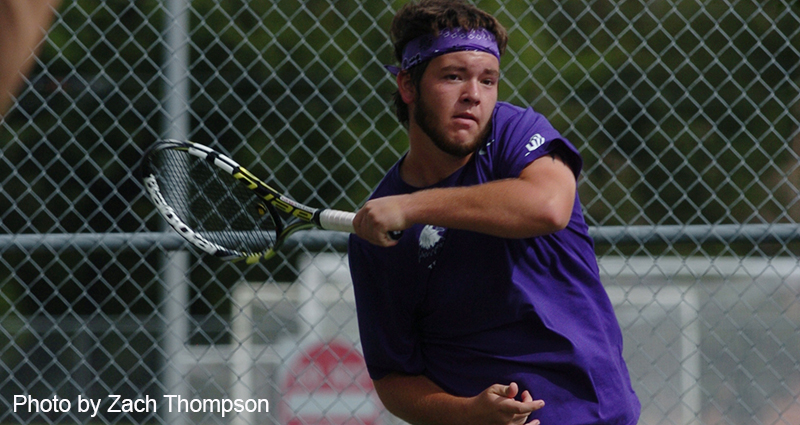 Men's Tennis Team Dominates Centenary