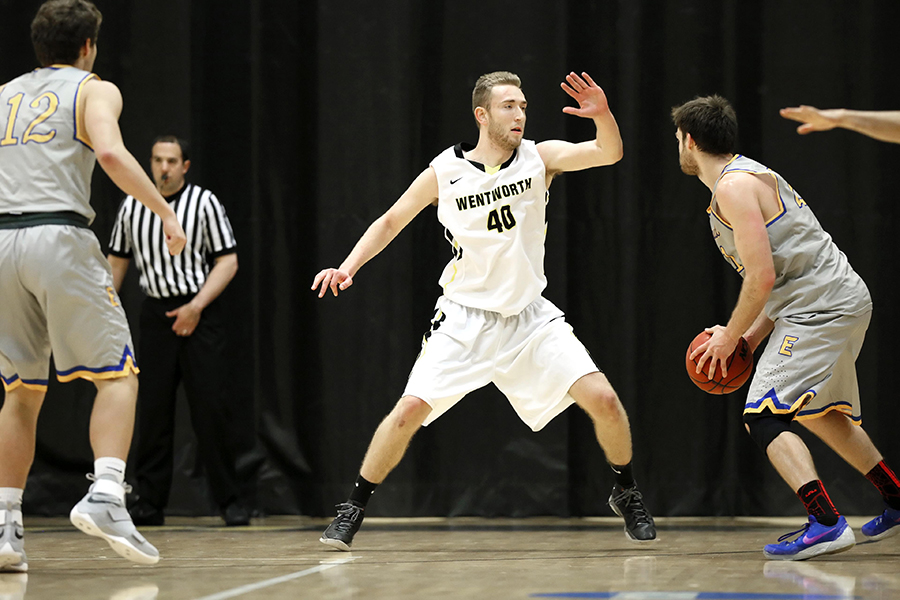 Men's Basketball Drops Semester-Ending Contest at Mount Ida