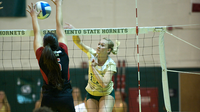 VOLLEYBALL DOMINATES SOUTHERN UTAH IN THREE QUICK SETS