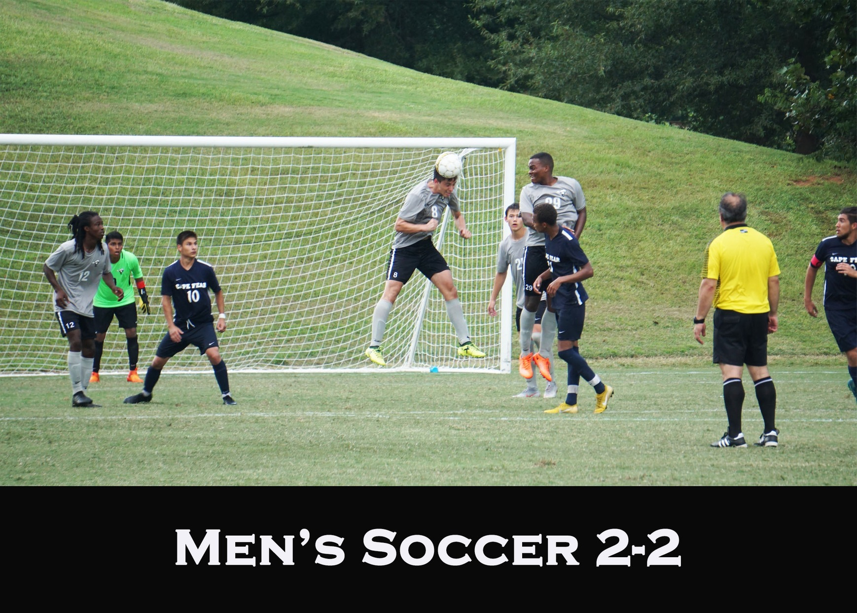 Men's Soccer Bounce Back after Defeat
