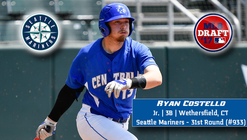 Costello Taken by Seattle in 31st Round of MLB Draft