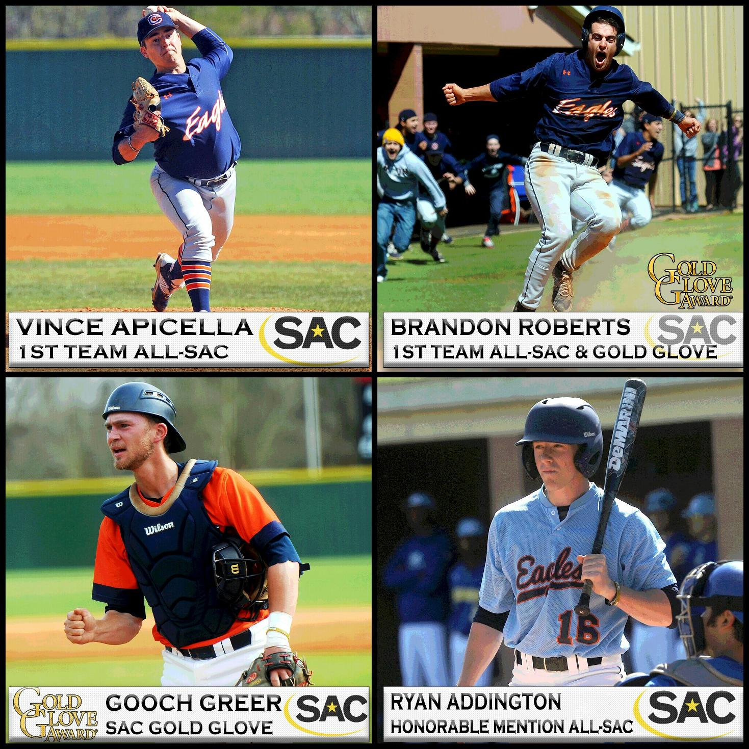 Apicella and Roberts headline quartet of Eagles honored by SAC
