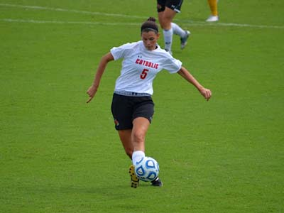 CUA falls 1-0 in double overtime to Moravian