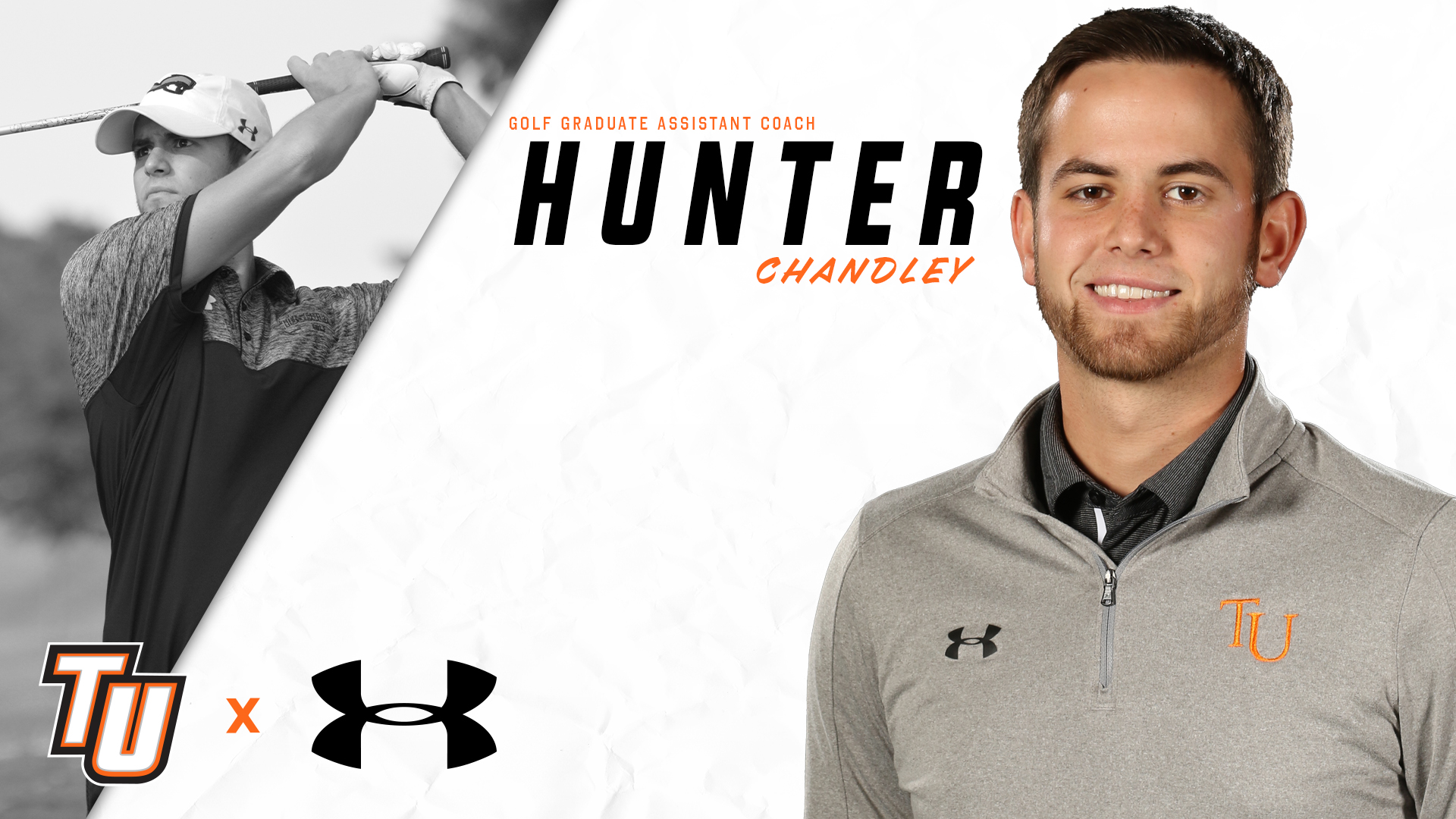 Chandley to serve as graduate assistant golf coach