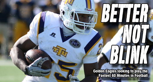 "Golden Eagles expecting to display the ""Fastest 60 Minutes in Football"""
