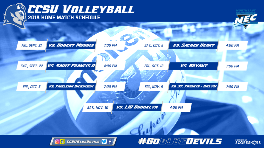 Volleyball Releases 2018 Season Schedule