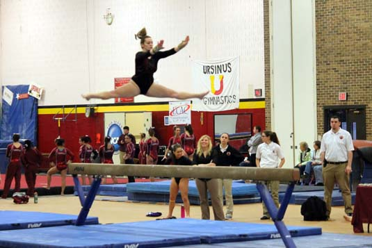 west chester university gymnastics meet