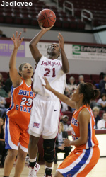 Women's Hoops Topped 92-63 At Gonzaga