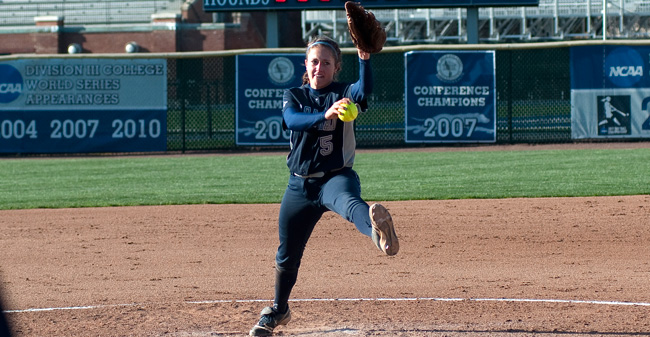 Junior Alyssa Fegely Earns Landmark Conference Pitcher of the Week
