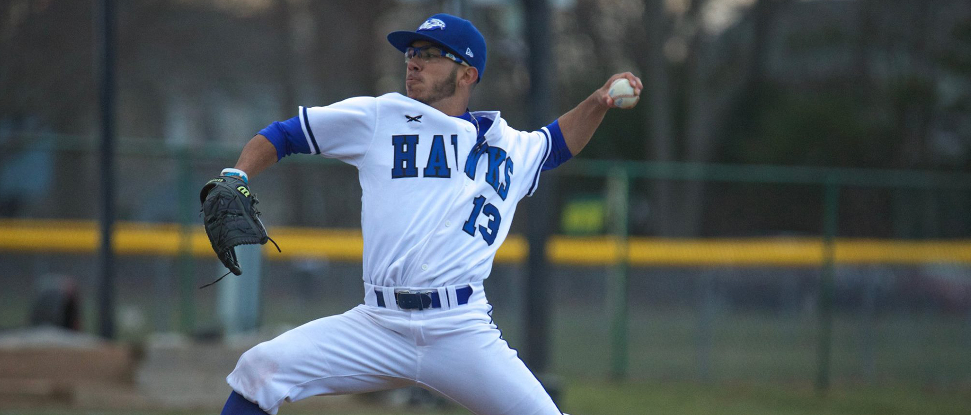 Dan Diaz pitched the Hawks past Newbury on Saturday evening