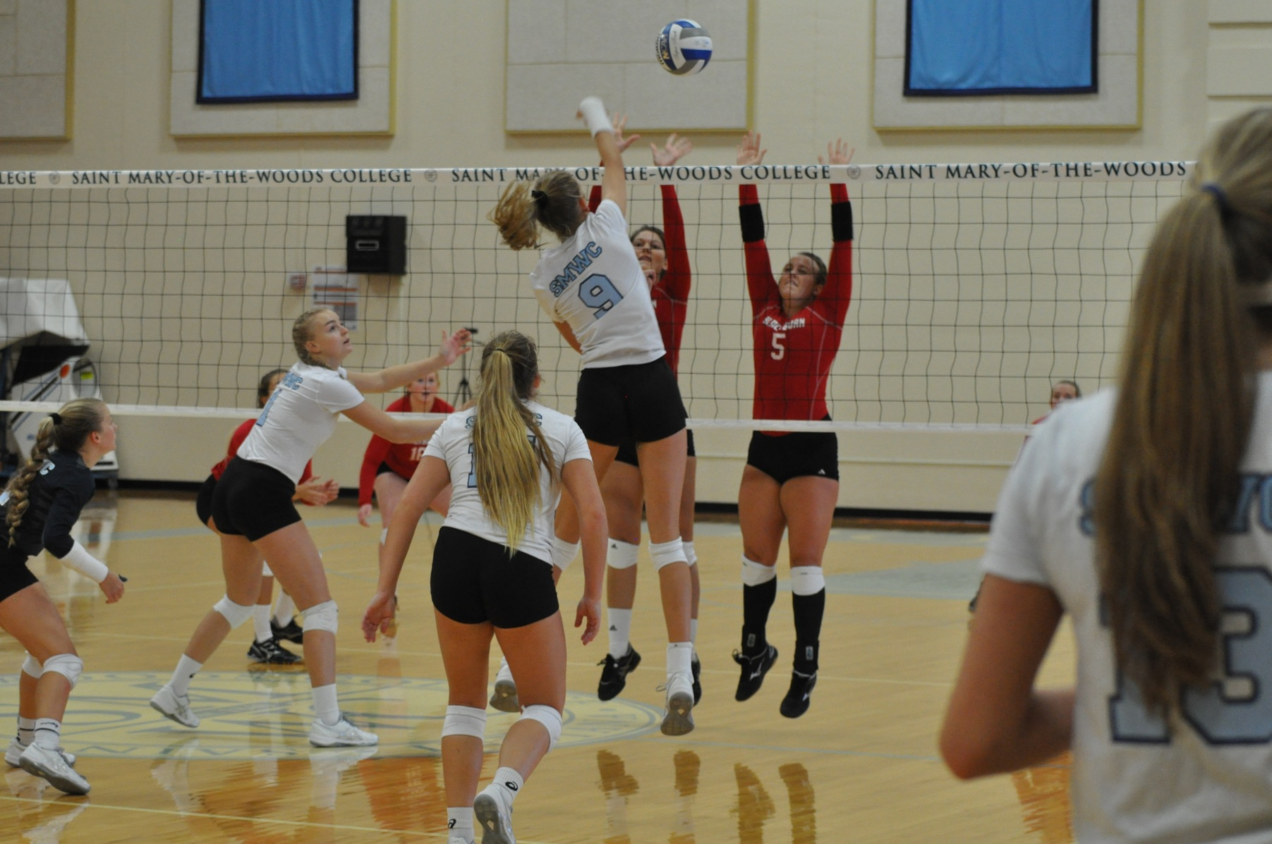 Volleyball Splits at Wilmington College Tri-Match; Three Home Contests On Tap