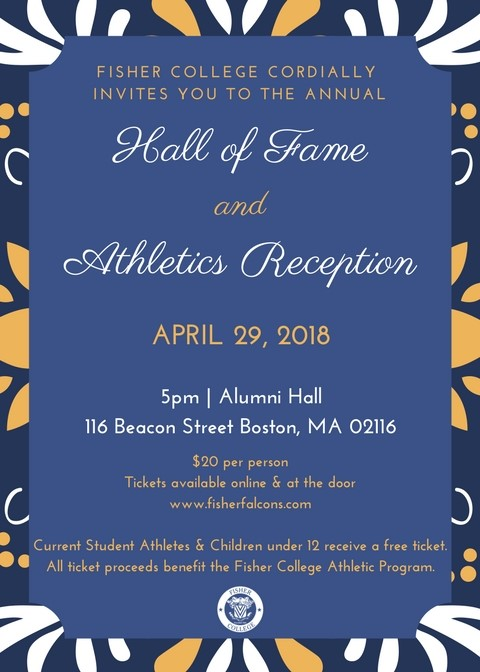 You are Invited!!! Hall of Fame and Athletics Reception