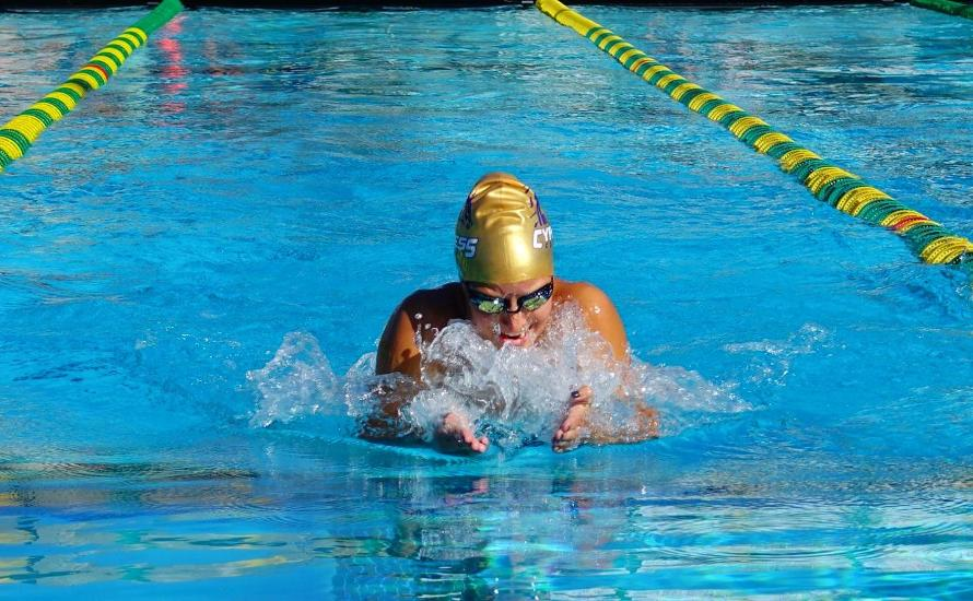 Breaststrokers Dominate at Orange Empire Conference Meet