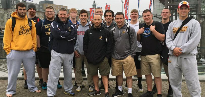 Wrestlers Travel to Russia for Cultural Exchange