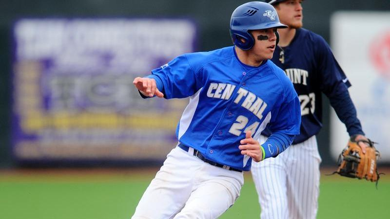 Ingham Paces Baseball to Win at Holy Cross