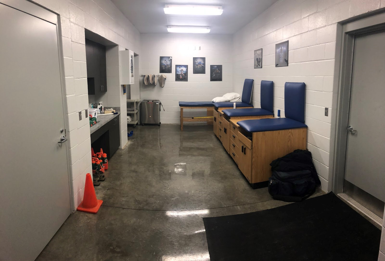 Pioneer Stadium Training Room