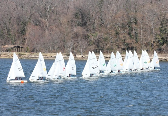 No. 2 Women's Sailing 2nd at Navy Spring Women's