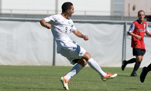 MEN'S SOCCER DOWNED BY LOYOLA MARYMOUNT 4-0