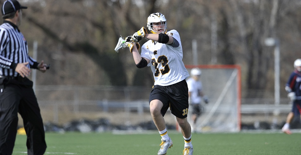 Poe, Lewnes Shine, But Men's Lacrosse Edged, 18-14, by Albany