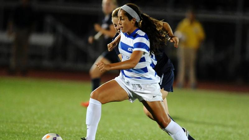 Women's Soccer Plays To 1-1 Draw In NEC Opener