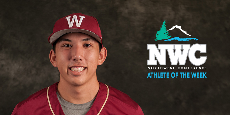Nelson Earns NWC Baseball Pitcher Student-Athlete of the Week with Shutout Win